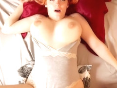 Amateur Cute redhead with big natural tits | Amadani