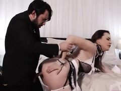 Sexy Housekeeper Dana Dearmond Anal Banged By Big Dick