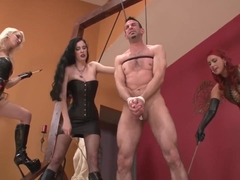 Hard Caning, with Ass Hook and cattle Prod