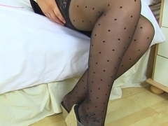 English Milf Alexa Looks Delicious In See-through Outfit