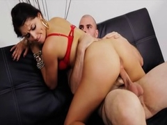 Exotic pornstar Scarlet Banks in hottest cunnilingus, latina adult movie