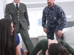 Daughterswap - Two Military Dads Fun With Daughters