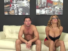 Best pornstar Alyssa Lynn in Incredible Cumshots, Big Tits sex clip