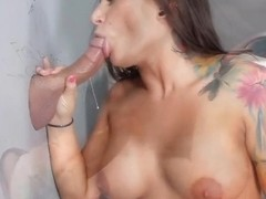 Charity Bangs in Teen Glory Holes #2