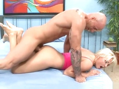 Jenna Lovely Gives Barry Scott aA Foot Job