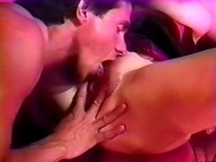 Bridgette Monet, Porsche Lynn, Rikki Blake in vintage porn video