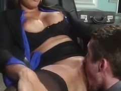 Hard Sex With Busty Slut Office Worker Girl (mercedes carrera) video-24