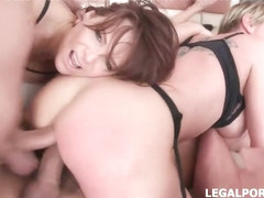 Syren De Mer, Jolee Love and Dee Williams are getting their asses fucked, at the same time