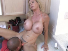Brooke Tyler Kitchen Fuck