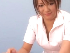 Fabulous Japanese chick Haruka Uchiyama in Incredible Couple, Stockings JAV clip