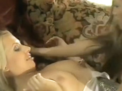 The fine Teanna Kai gets down to play with a leggy blonde lesbian