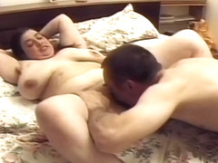 Two Pals Share BBW Amateur Teen
