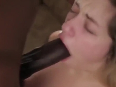 Skinny Blonde Teen Gets Ravaged By Huge Black Monster Cock