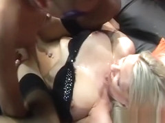 Emma Starr in other gangbang party!