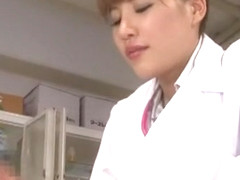 Hottest Japanese chick Kaera Uehara in Horny POV, Medical JAV video