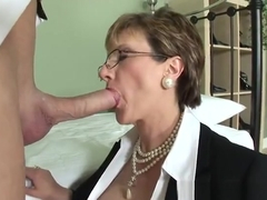 Unbelievable experienced woman Lady Sonia attending in cum shot porn video
