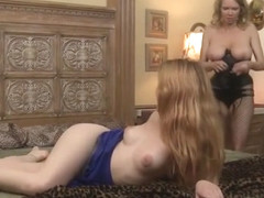 Busty Mom Rain Degrey Wears Strapon And Fucks Teen Amarna