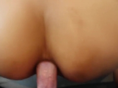 Sexy Veronica Leal Squirts during Anal Sex