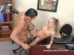 Kylie Wilde & Tommy Gunn in Naughty Office
