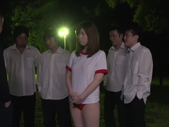 Horny Japanese chick Kaho in Best JAV uncensored Outdoor scene