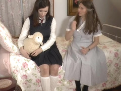 Fae Gets Put in Diapers After Her Ass Was Spanked by Mommy xLx