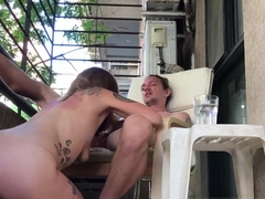 Risky Sex on a Balcony in Buenos Aires - Naughty Nomads EP08 - IdeallyNaked