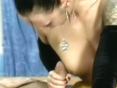 Horny amateur shemale clip with Threesome scenes