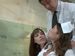 Pornstar porn video featuring Amber Rayne and Dana DeArmond
