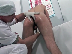 Latino Twink Goes In For A Prostate Exam