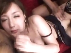 Horny Kaede Fuyutsuki gets hard banged in her pussy