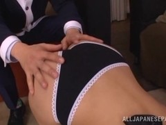Anna Anjo carnal Asian maid gets hot cumshot