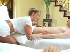 Massage Therapist Eva Notty Has Naughty Plans For Her Young Customer