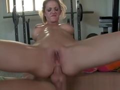 Alluring tattooed English experienced female Roxanne Hall enjoy anal fucking