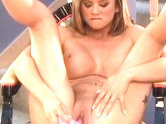 Cody Milo shows off her perfect tits and plays with her pretty pussy