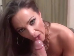 Abigail Mac Blows Her Fan