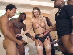 BlacksOnBlondes - Brooklyn Chase in HD
