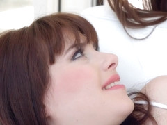 Cindy Bubble and Luna Rival in lesbian scene by Sapphic Erotica