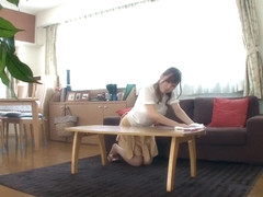 Crazy Japanese whore Yuria Sonoda in Amazing panties, solo girl JAV movie