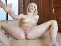Denisa Peterson in HD Pissing Video Denisa at Home