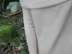 Shameless indian hottie has risky sex in public by the lake while strangers watch desi chudai POV .