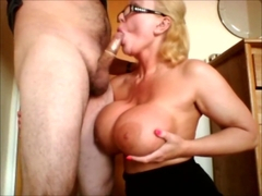 Getting his cock out wanking it and taking his cumshot