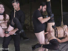 Two Submissive Sluts - TheTrainingofO