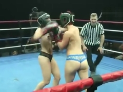 Ellismania strip fight boxing