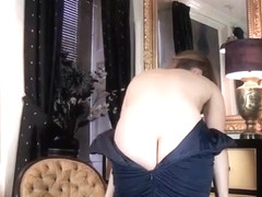 The french maid Annabelle Lee masturbates so hot  - Compilation - WeAreHairy