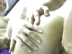 Big Natural Tits Waitress Tag Teamed By Girlfriend And I - Great Titty Fuck Double Blow Job - Orig.