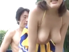 Sexy busty young Mao Hamasaki gets rough plowing