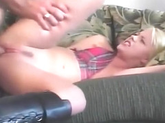 hot babe licks his ass