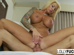 Lolly Ink in Hot Blonde Lolly Makes It Up To Him With Sex - LollyInk