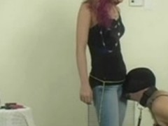 Hot Princess Worshiped by Her sissy cuckold