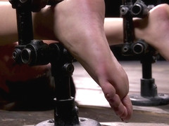 Playful, Bratty, and Helpless Gia Derza in Bondage - DeviceBondage
